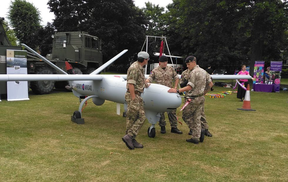 Andover Armed Forces Day; Watchkeeper Drone