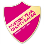 Andover Radio Mystery Year Chufty Badge