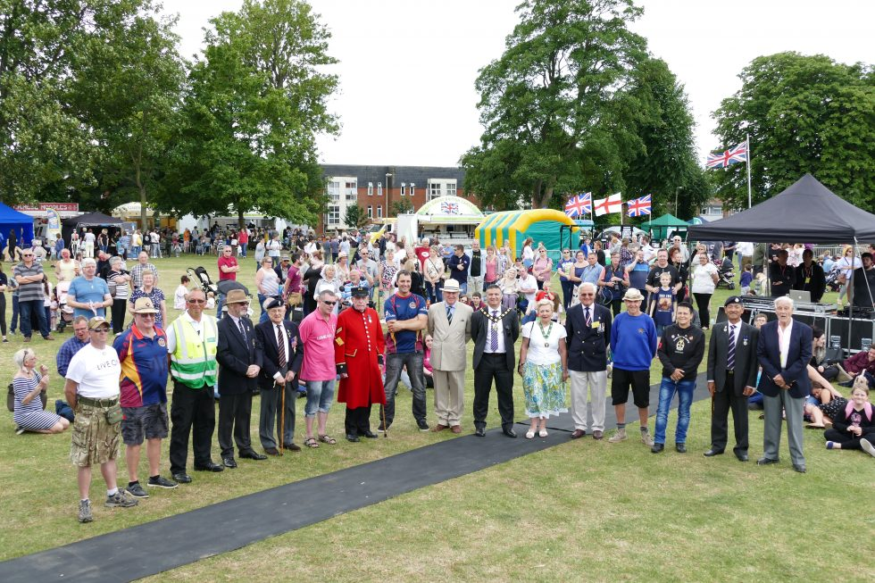 Andover Armed Forces Day 2017 Veterans