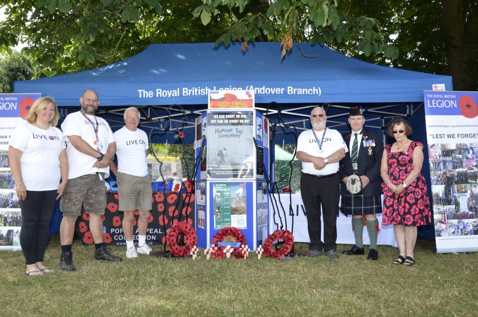 Royal British Legion Armed Forces Day Andover 2018