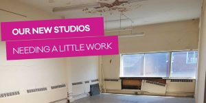 Andover Radio: Studios needing a little work