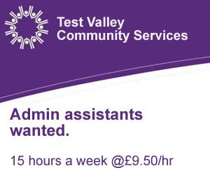 Test Valley Community Services job advertisement
