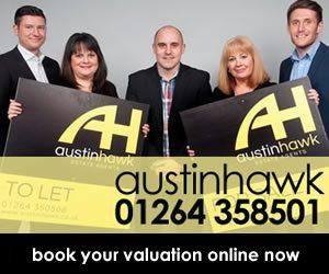 Austin Hawk advertising banner