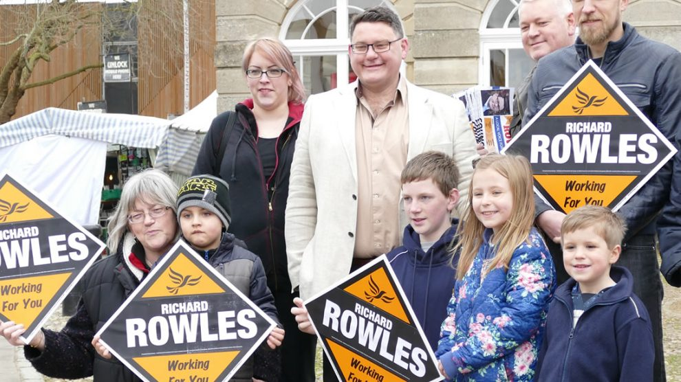 County Council Election candidate Richard Rowles