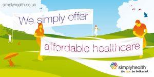 Simplyhealth - Outdor poster