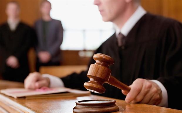 Basingstoke Magistrates - Judge with gavel