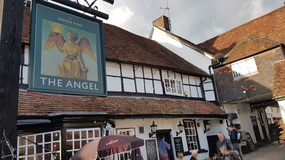 The Angel Inn Andover