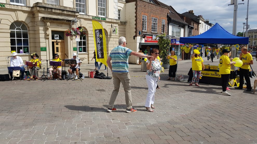 Macular Society in Andover High Street