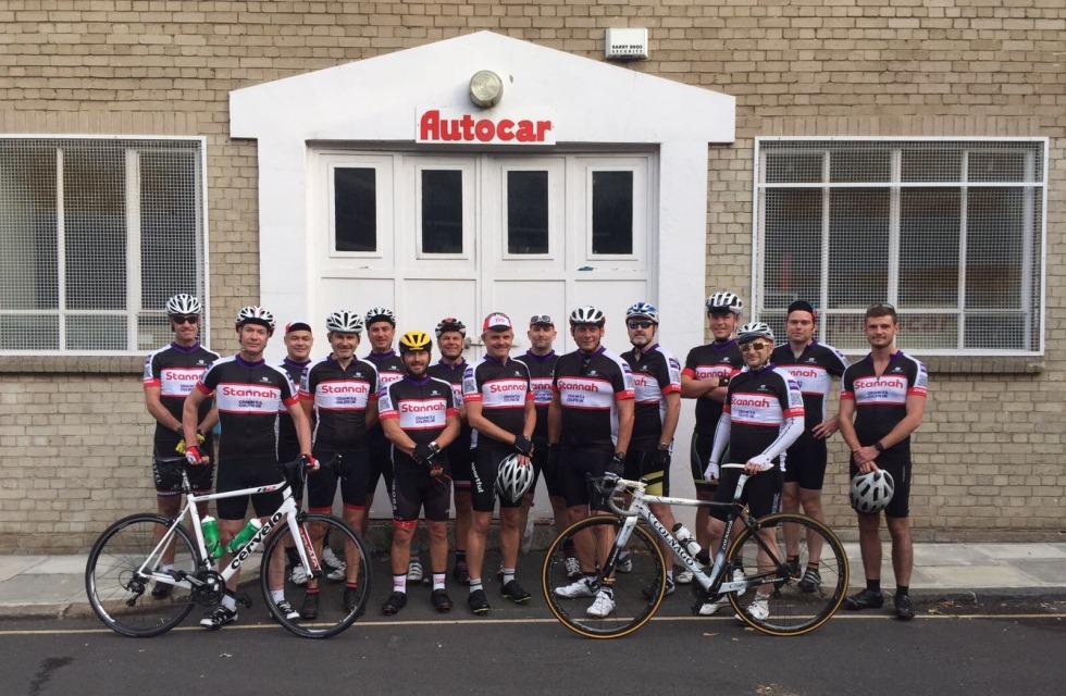 Stannah – Cycle Team at Tiverton Street