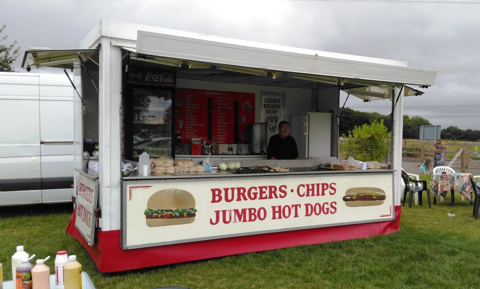 Weyhill Car Boot – Burger Van