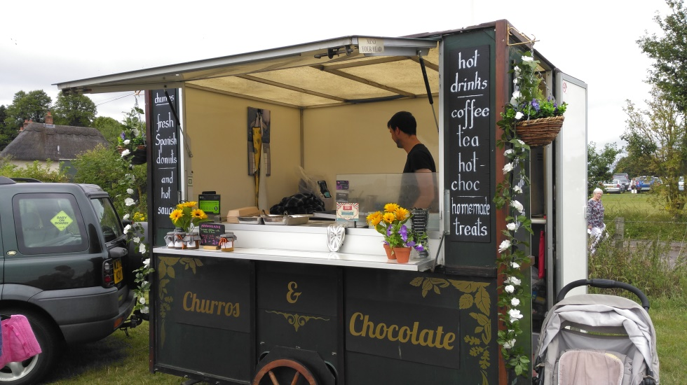 Weyhill Car Boot – Churros Van