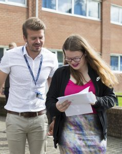 Andover College A-Level Results: Alice Hill and Ben Stokes
