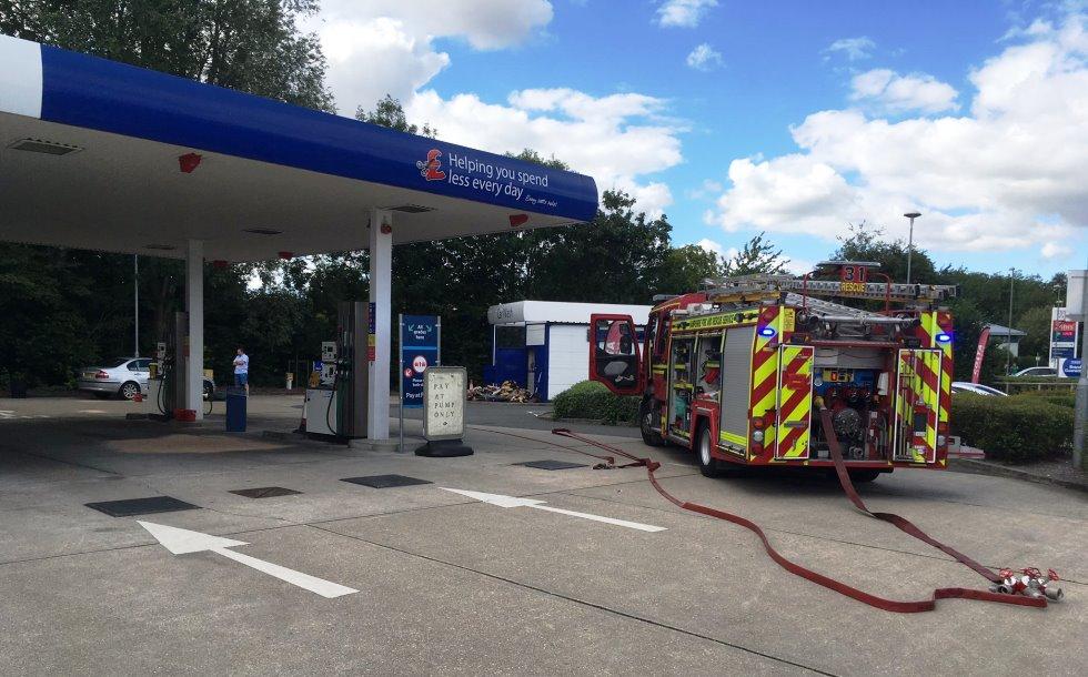 Andover Fire Station – Tesco Fuel Leak