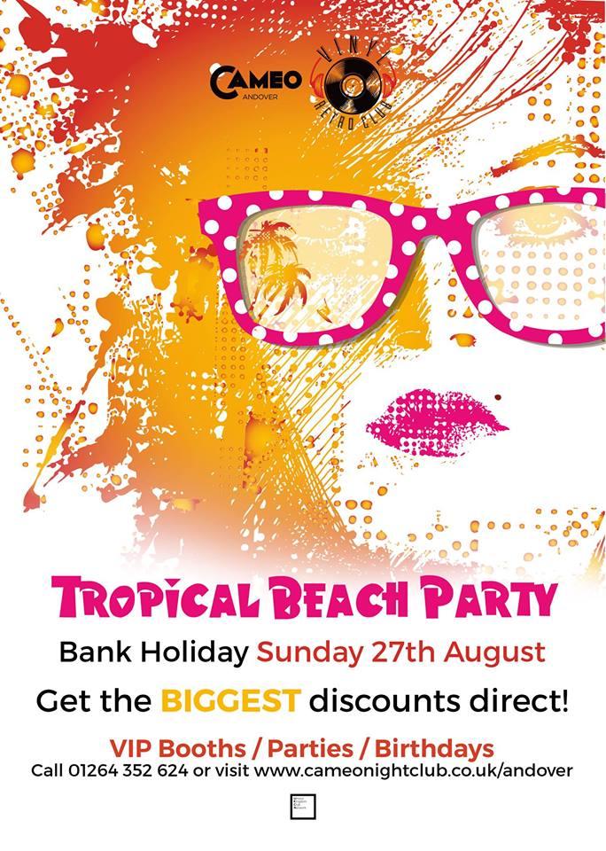 Cameo & Vinyl – Tropical Beach Party