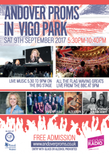 Andover Proms - Vigo Park September 9th Andover What's On Event