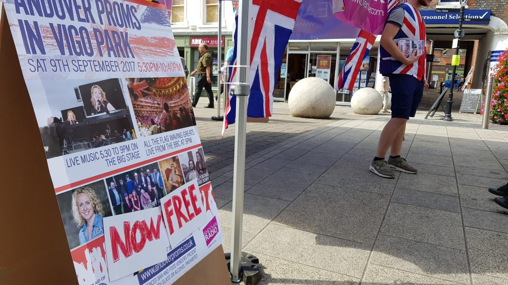 Andover Proms in the HIgh Street