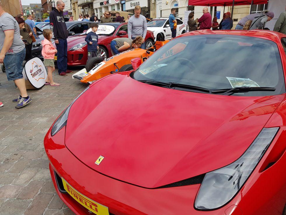 Andover Festival of Motoring 2017 - Ferrari