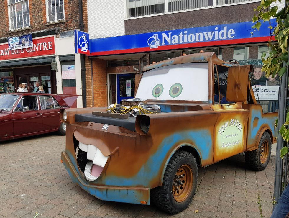 Andover Festival of Motoring 2017 - From Cars 2 Mater