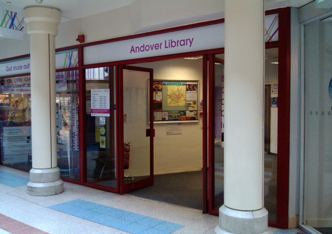 Andover-Library-Entrance