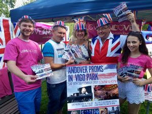 Andover Proms (Alex Leigh, Maurice Sweeney, Rebecca Speculo, Richard Rowles, Jade Brook)