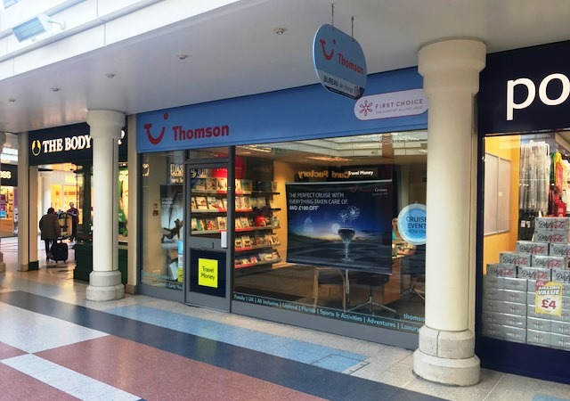 Thomson Travel Agents Andover