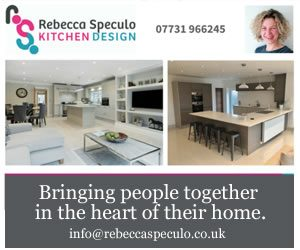 Rebecca Speculo Kitchen Design Andover advert