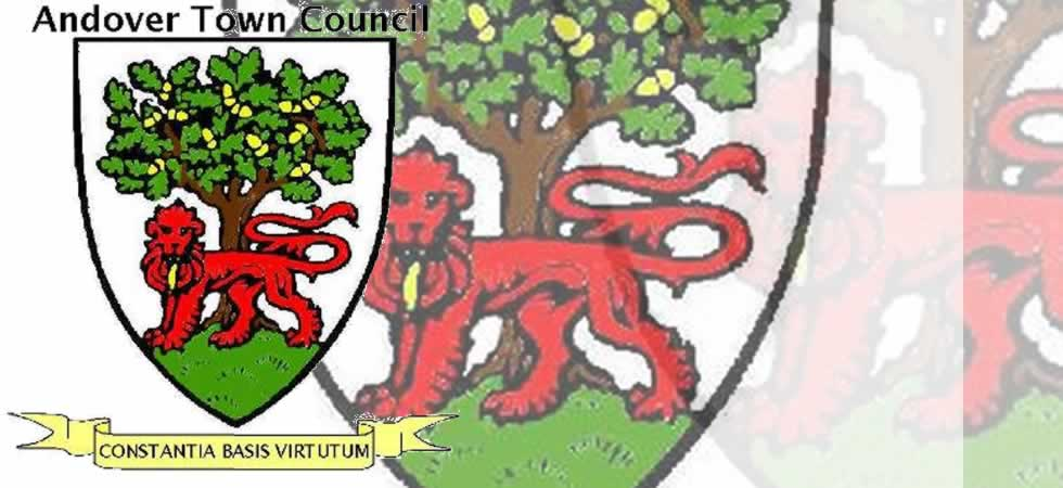 Andover Town Council Heraldic Coat of Arms