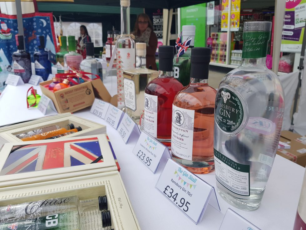 Andover Farmers and Craft Market - The Gin Stall