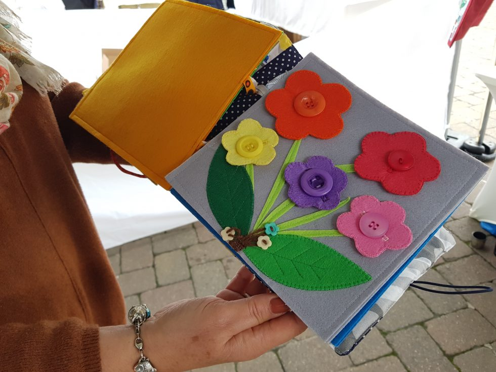 Andover Farmers and Craft Market: Material Moments QuietBook