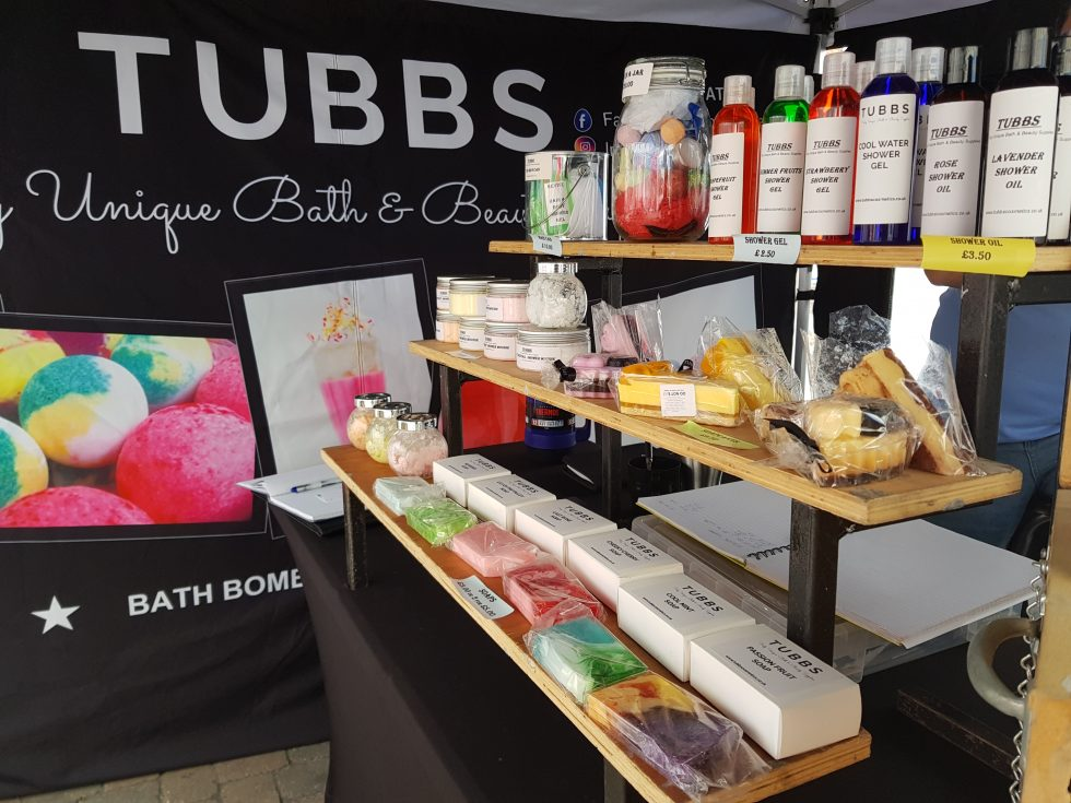 Andover Farmer and Craft Market: Tubbs Cosmetics