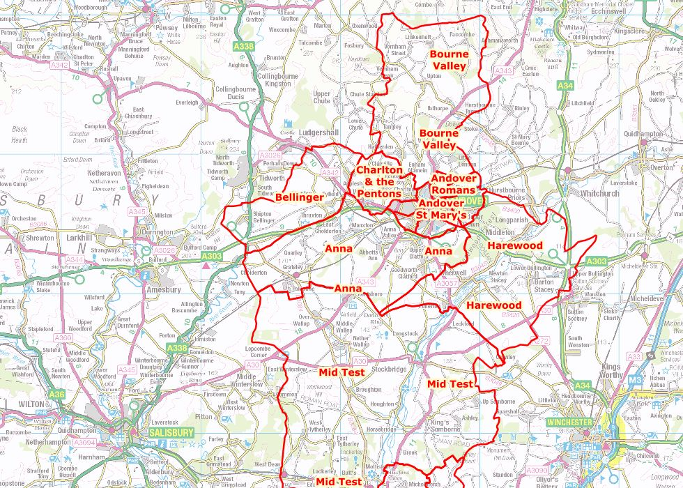 Test Valley Proposed Boundary Changes