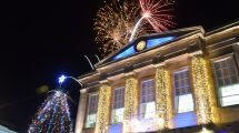 Christmas Lights Switch On Andover