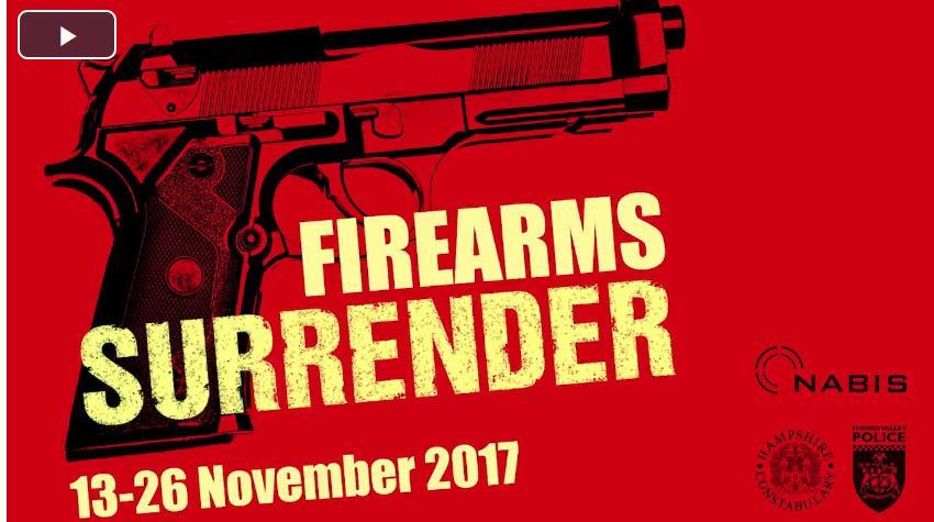 Police – Firearms Surrender