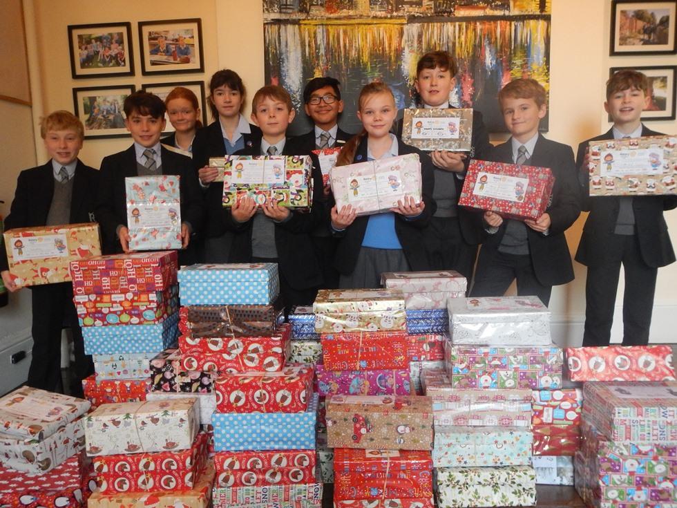 Rookwood School – Christmas Shoeboxes 2017