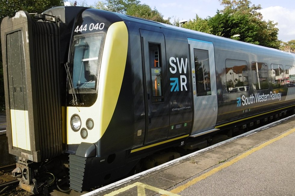 South Western Railway Train