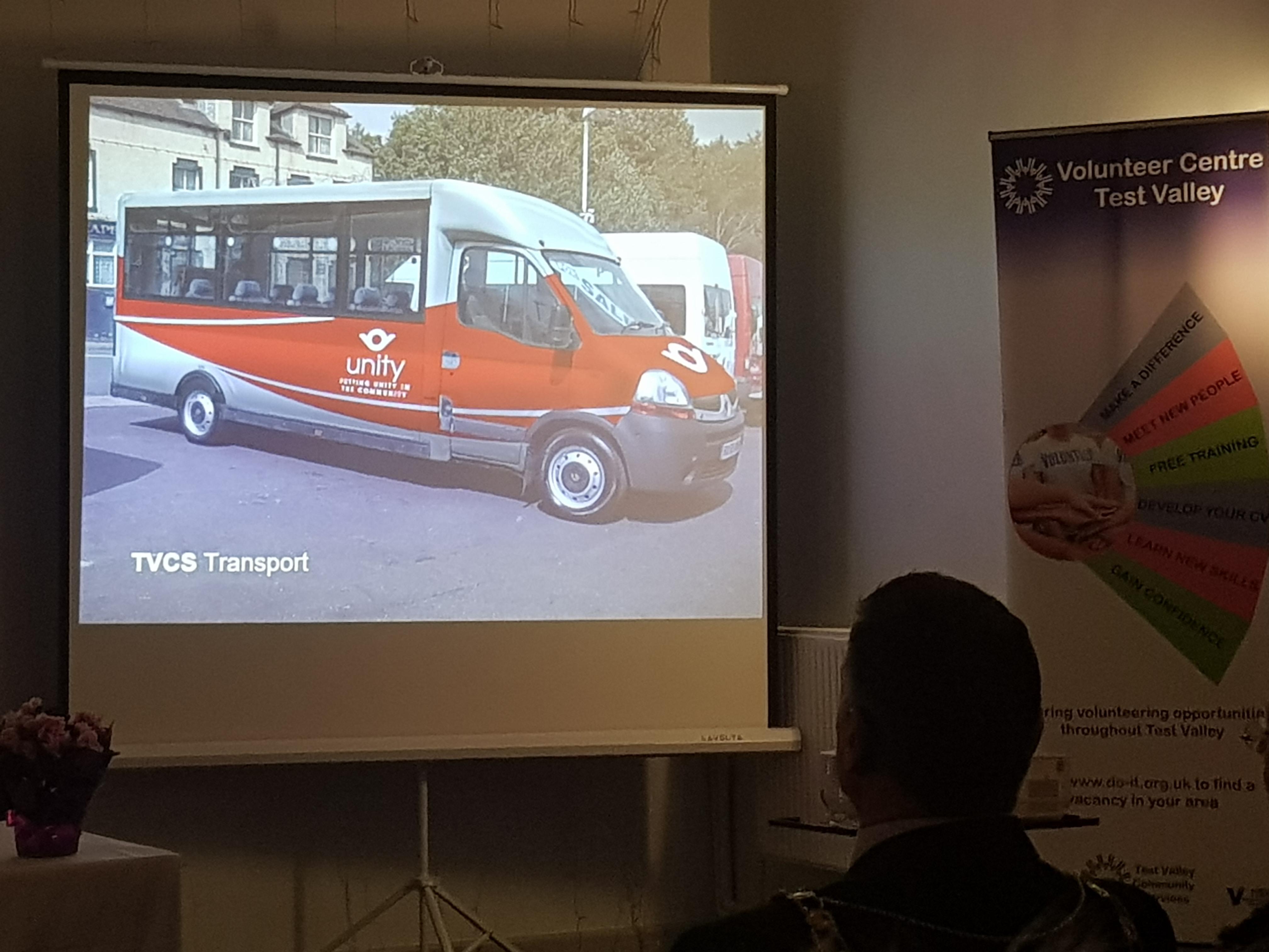 Unity minibus