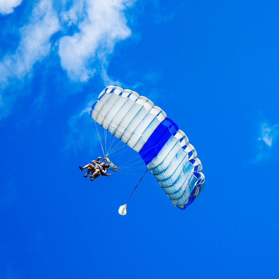 Tandem Parachute Skydive