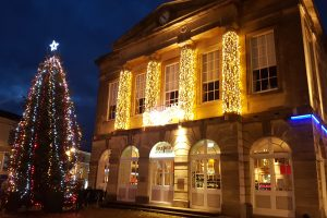 Andover Guildhall at Christmas 2016