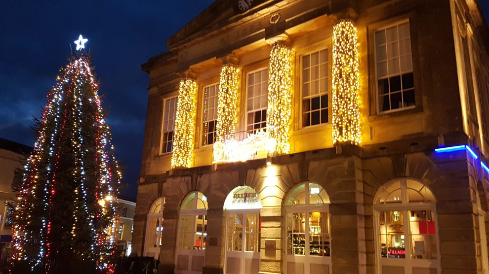 Andover Christmas Lights Switch On 2017
