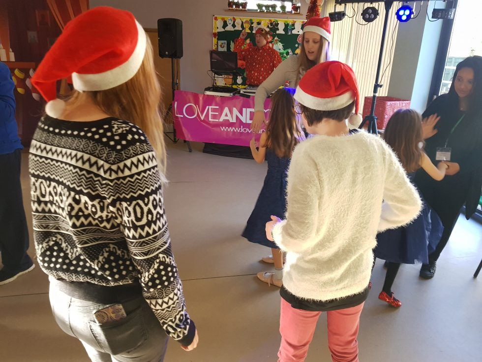 Andover and District Mencap: Christmas Party 2017