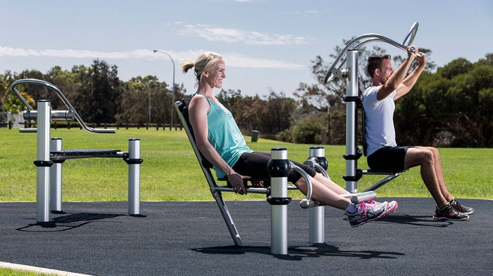 TVBC Park Fitness Equipment Andover Vision
