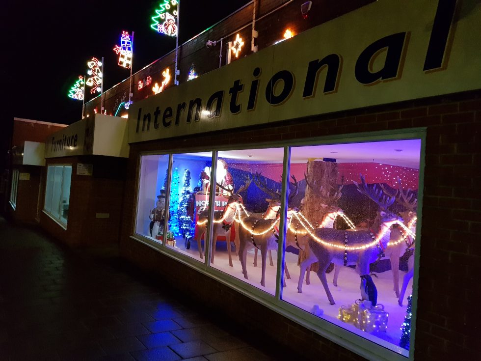 Andover Festive Window 2017 International Furniture