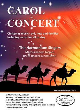 Andover Harmonium Singers Christmas 2017