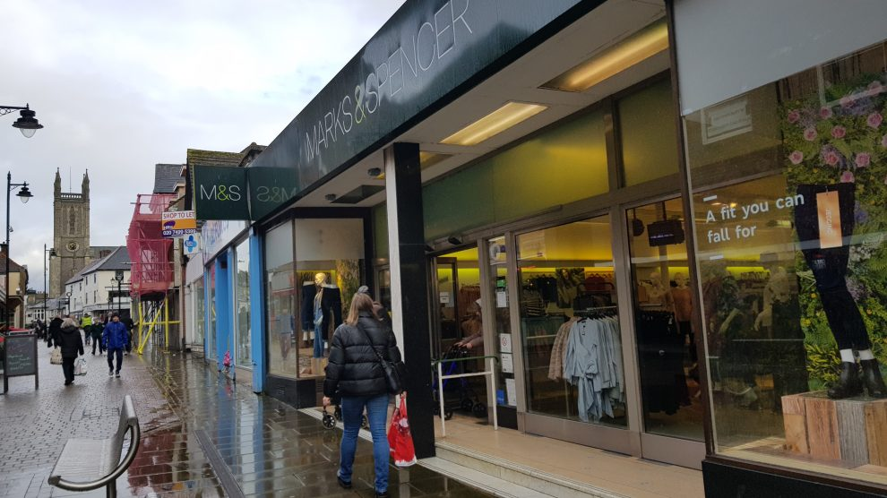 Marks and Spencer to close eight stores putting 468 jobs at risk
