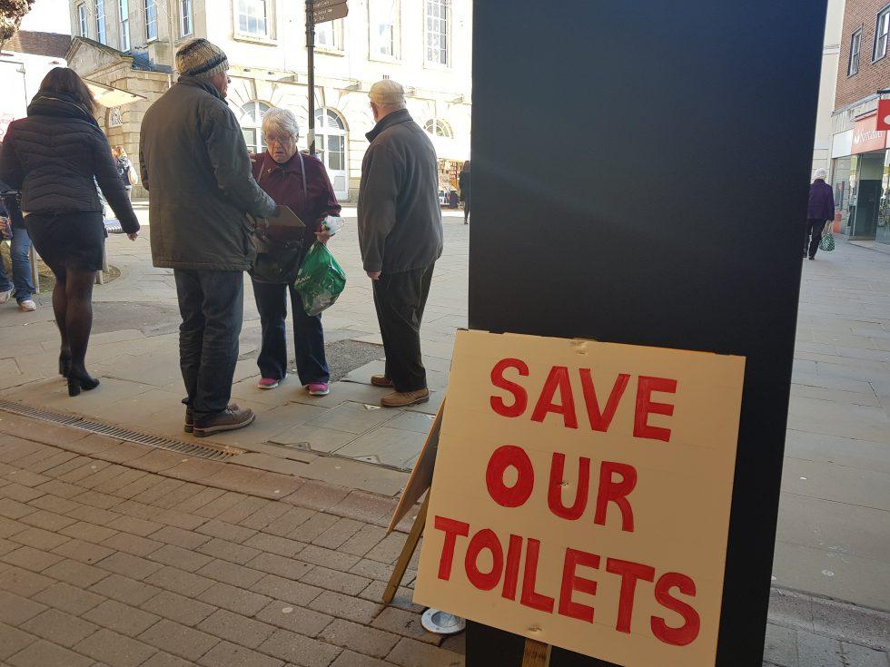 Save Andover Public Toilets