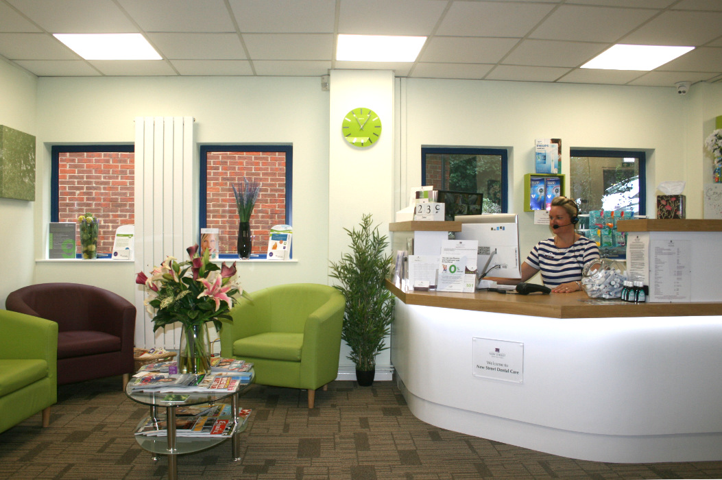 New Street Dental Care - Reception