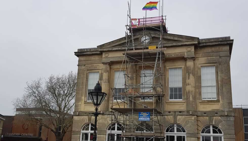 Andover Town Centre Guildhall