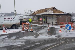 George Yard Toilets Demolition