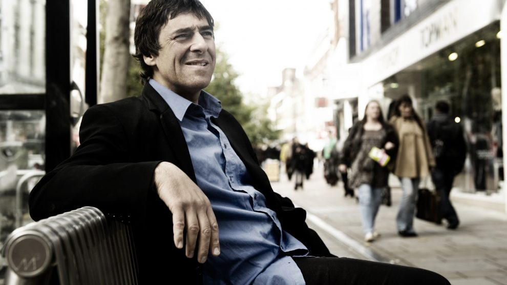 Relaxed: Mark Steel comes to The Lights