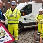 Pothole Busters with Cllr Perry